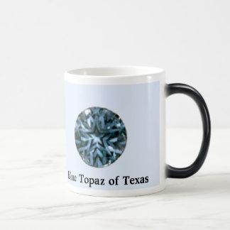 topázio, topázio azul de Texas Caneca Mágica
