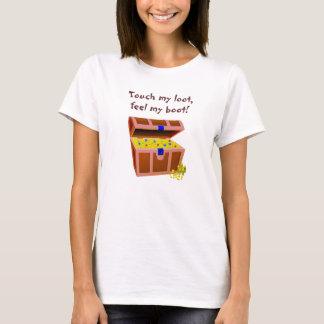 Toque da Menina-Don't do pirata meu pilhagem Tshirt