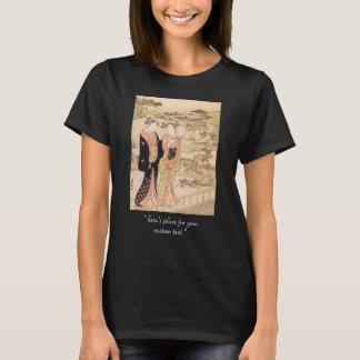 Torii Kiyonaga duas mulheres em uma arte do Camisetas