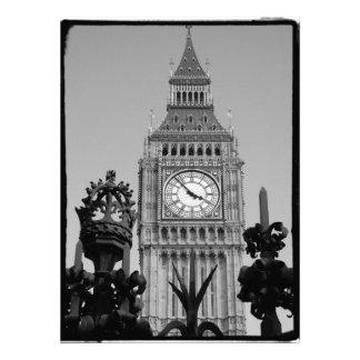 Torre de Big Ben Convite