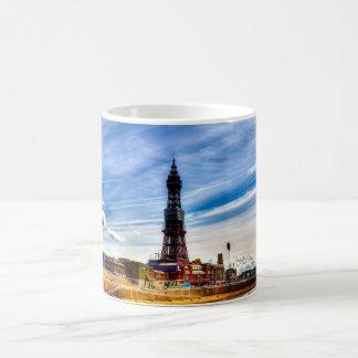 Torre de Blackpool Caneca De Café