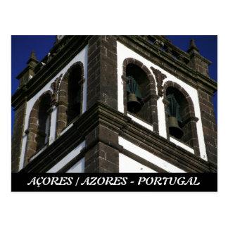Torre de igreja Católica Cartão Postal