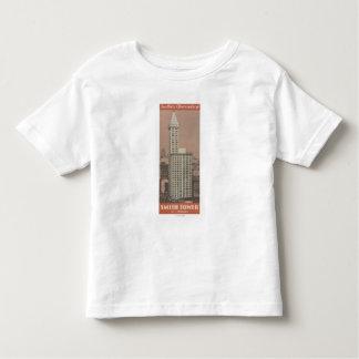 Torre de Smith, o obervatório de Seattle Camisetas