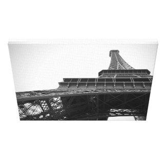 Torre Eiffel Impressão De Canvas Envolvidas