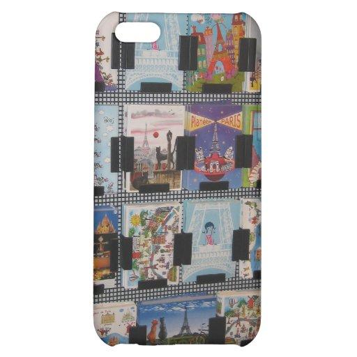 Torre Eiffel Capa Para iPhone 5C