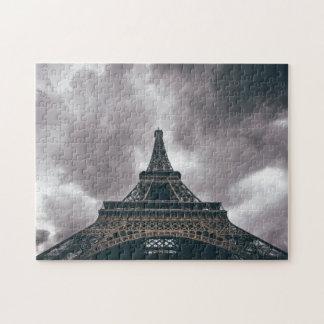 Torre Eiffel escura Quebra-cabeça