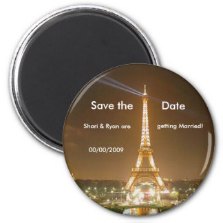 torre Eiffel, imã salve a data
