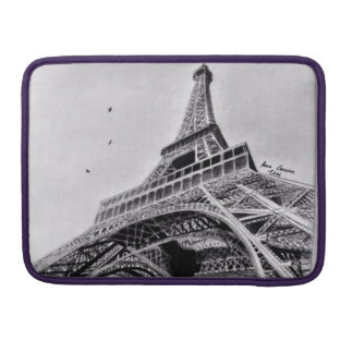 """Torre Eiffel Macbook pro 13"""" luva Bolsa Para MacBook"""