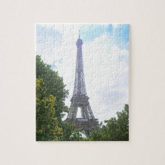 Torre Eiffel, Paris France Quebra-cabeça
