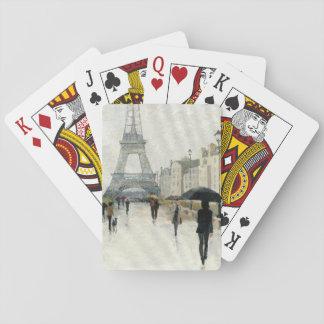 Torre Eiffel | Paris na chuva Jogos De Baralhos
