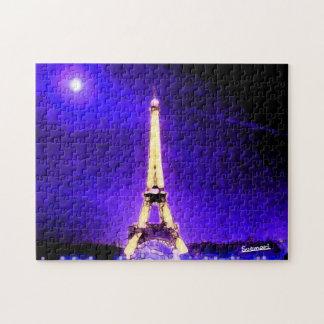 Torre Eiffel Quebra-cabeça