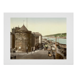Torre Waterford de Ireland Reginalds do vintage Poster