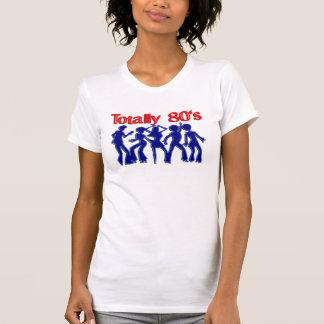 Totalmente disco 80s camisetas
