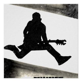 Toxicómano do rock and roll poster perfeito