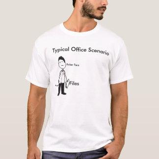 Trabalhador de escritório tshirt