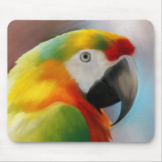 Trabalho de arte de Mousepad Kesha do papagaio