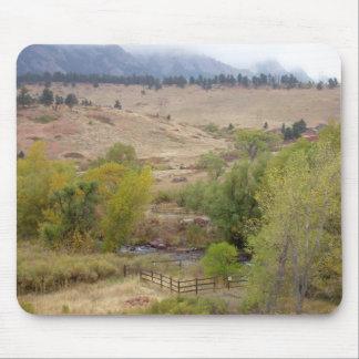 Trabalhos da paisagem de Colorado Mousepads