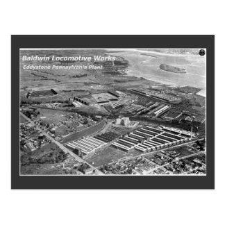 Trabalhos locomotivos de Baldwin, Eddystone Cartão Postal