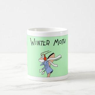 Traça do inverno caneca de café