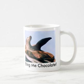 Traga-me o chocolate! caneca de café