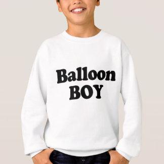 Traje do instante do menino do balão camiseta