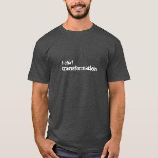 transformação do t-shirt