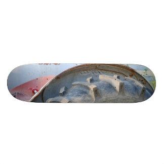 trator antigo shape de skate 19,7cm