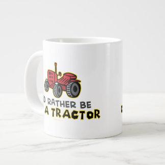 Trator engraçado jumbo mug