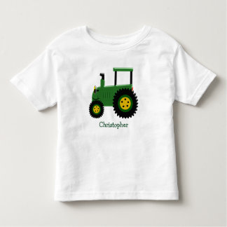 Trator verde personalizado t-shirt
