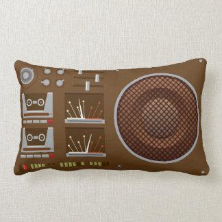 Travesseiro audio retro de Boombox Almofada Lombar