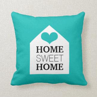 Travesseiro azul & preto de Tiffany HOME DOCE HOME Almofada