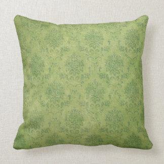 Travesseiro bonito do rolo do verde do olhar do almofada