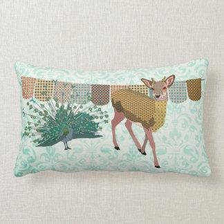 Travesseiro cor-de-rosa de Mojo dos cervos do pa