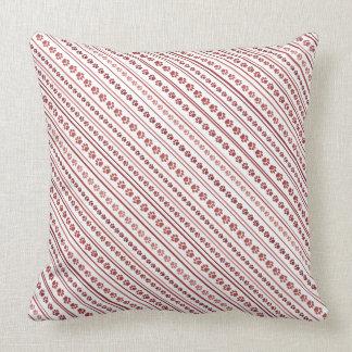 Travesseiro cor-de-rosa empoeirado escuro do almofada
