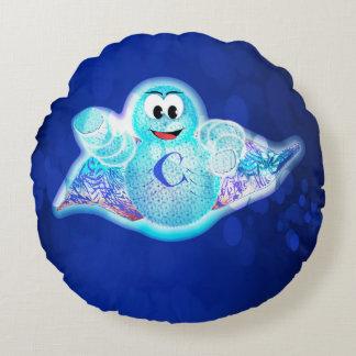 Travesseiro cura celular super para miúdos! almofada redonda