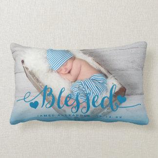 Travesseiro da lembrança da foto do nascimento do almofada lombar