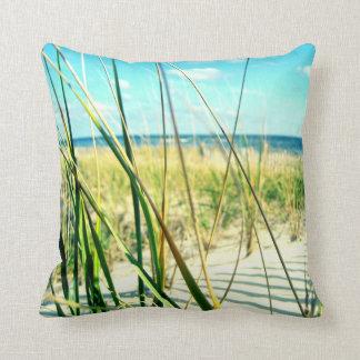 Travesseiro da praia da grama da duna do mar