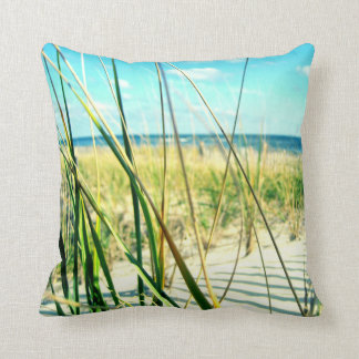 Travesseiro da praia da grama da duna do mar almofada