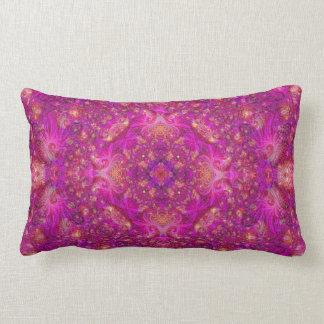 Travesseiro de Fractually Fuschia Almofada Lombar