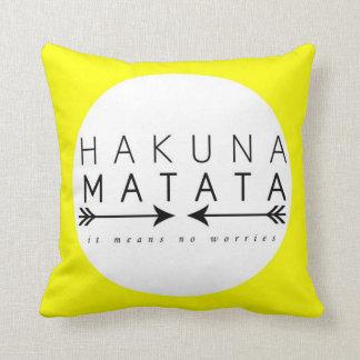 Travesseiro de Hakuna Matata Almofada