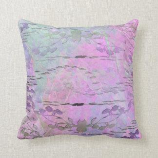 Travesseiro decorativo abstrato floral almofada