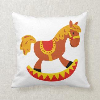 Travesseiro decorativo/cavalo de balanço almofada