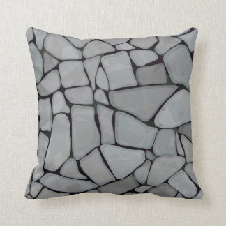 Travesseiro decorativo da rocha do rio almofada