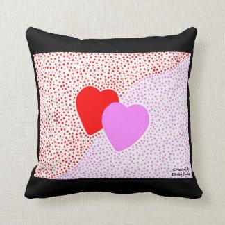 Travesseiro decorativo do quadrado da surpresa do