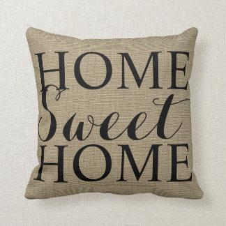 Travesseiro decorativo doce Home da casa  
