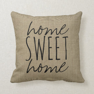 Travesseiro decorativo doce Home da casa | Almofada