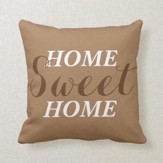 """Travesseiro decorativo """"Home"""" doce Home do acento"""