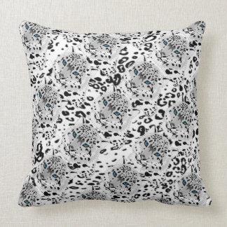 Travesseiro decorativo/leopardo almofada