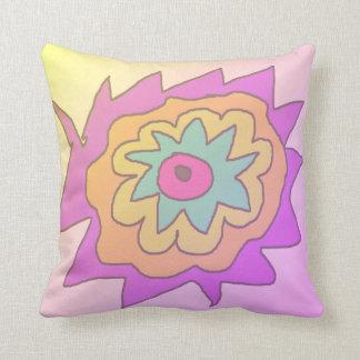 Travesseiro decorativo parvo da flor almofada