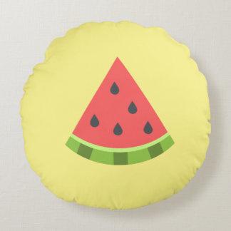 Travesseiro decorativo redondo da melancia almofada redonda